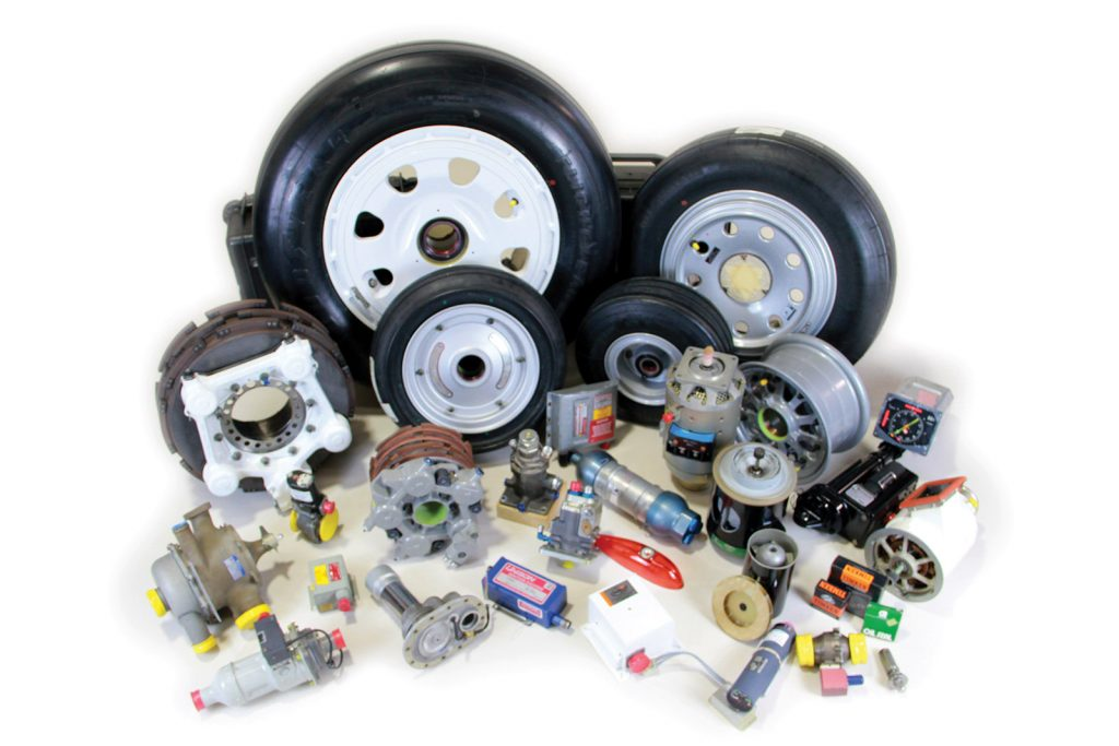 Aircraft Parts and Tooling sales as well as Consumables we have in stock
